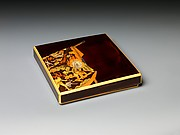 Writing Box (Suzuri-bako) with Hell Courtesan's Robe