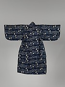 Child's Kimono with Pine, Bamboo, Plum Blossoms, and Fans