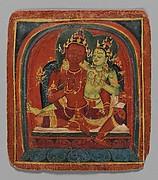 Initiation Card (Tsakalis): Bodhisattva Samantabhadhra