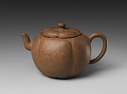 Teapot in the Shape of a Plum Blossom