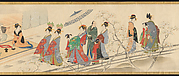 "Three Gods of Good Fortune Visit the Yoshiwara; or ""Scenes of Pleasure at the Height of Spring"""