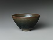 "Tea Bowl with ""Hare's-Fur"" Glaze"