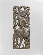 Belt Plaque with Mythological Creature