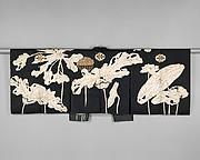 Kyōgen Costume: Jacket (Suō) with Design of Lotuses