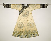 Woman&#39;s Embroidered Ceremonial Robe (The Bat Medallion Robe)