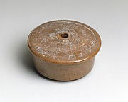 Box Lid with Incised Figural Decoration