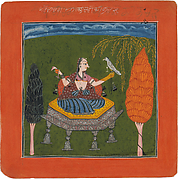 Sanveri Ragini: Folio from a ragamala series (Garland of Musical Modes)