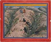 Maharaja Fateh Singh Hunting Female Bears