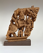 Panel from a Ritual Chariot:  Narasimha, the Man-Lion Incarnation of Vishnu