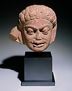 Head of a Demonic Male Deity