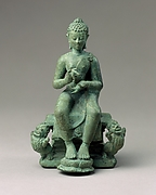 The Transcendent Buddha Vairochana (?) Seated in Western Fashion