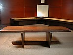 Walnut Greenrock Bench