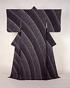 Kimono with Flowing Water Design