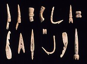 Arrowheads, needles, hooks and harpoons
