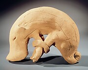 Haniwa (Hollow Clay Sculpture) of a Boar with Bound Feet