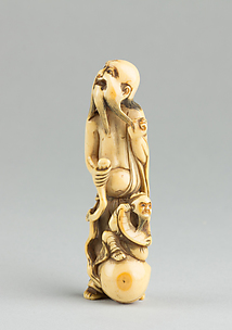 Netsuke of an Old Man