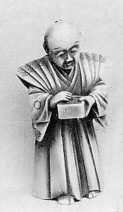 Netsuke of Priest