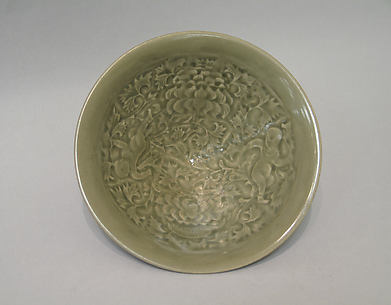 Bowl with Children among Vines