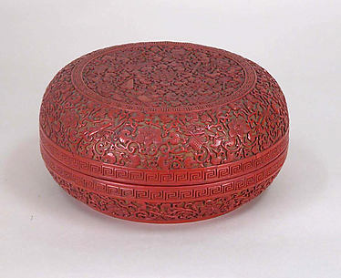 Box with Eight Buddhist Treasures