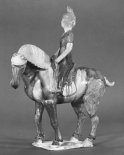 Figure of a Equestrienne