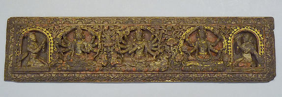 Pair of Buddhist Manuscript Covers