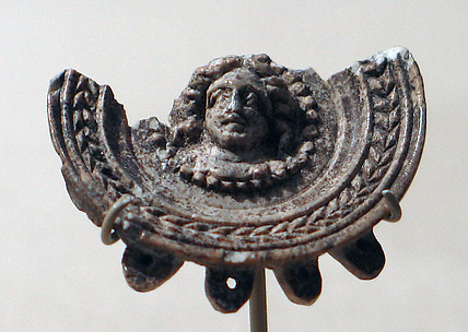 Earring(?) with the Head of a Male Figure