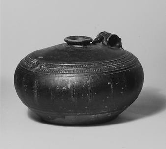Jar with Zoomorphic Handle and Spout