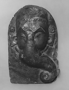 Relief Plaque of Hindu Deity, Probably Processional: Face of Ganesha