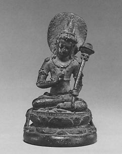 Seated Deity from an Esoteric Buddhist Mandala