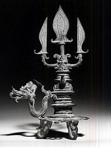 Miniature Trident with Naga