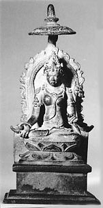 Seated Shri-Devi