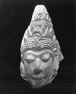 Head of a Male Deity