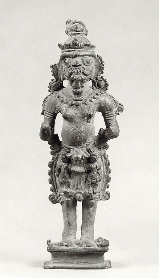 Standing Horrific Female Deity