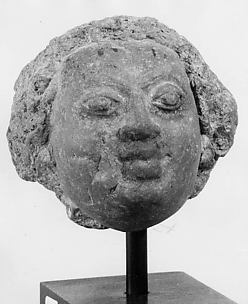 Head of a Male Figure