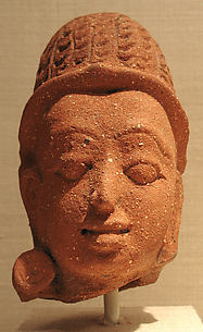 Head, perhaps of a Deity