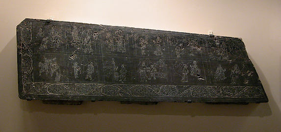Side Panel from a Sarcophagus