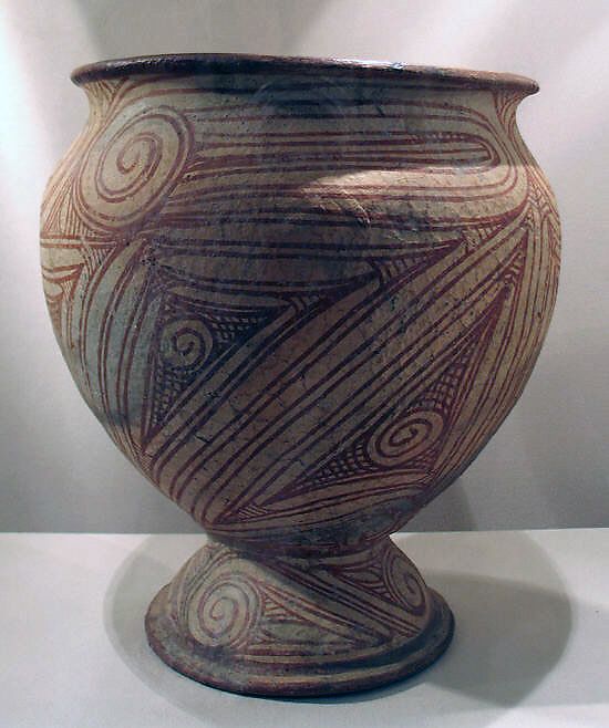 Vessel with Pedestal