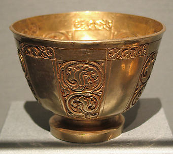 Cup with Foliate Panels