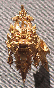Ear Ornament with Kala Motif