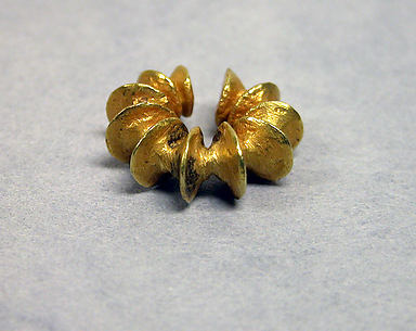 Earring with Fused Discs