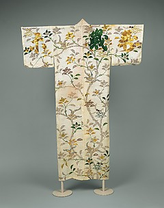Robe with Mandarin Orange Tree and Auspicious Characters