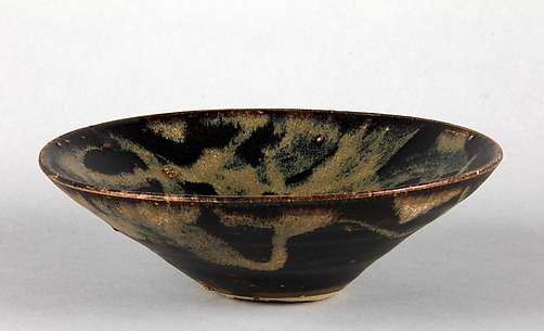 Tea Bowl with Splashed Decoration