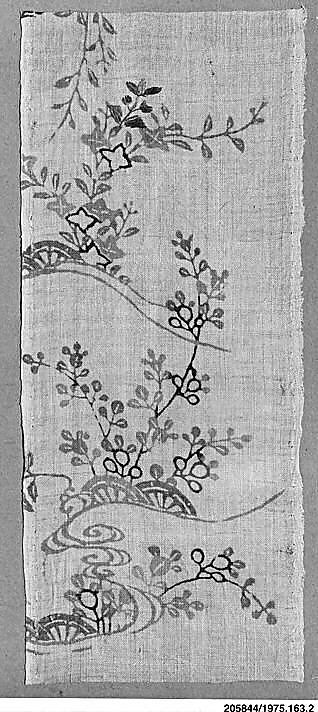 Piece from a Summer Robe (Katabira)