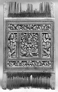 Double Comb with Lakshmi (?)