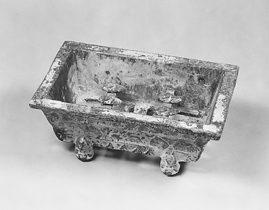 Model of a Rectangular Brazier