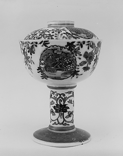 Covered Cup on Pedestal