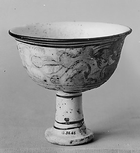 Cup on High Foot