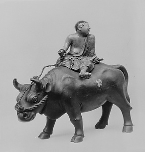 Censer in Form of a Boy Riding an Ox