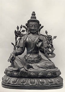 Figure on Lotus Throne