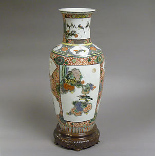 Vase with Flowers and Birds